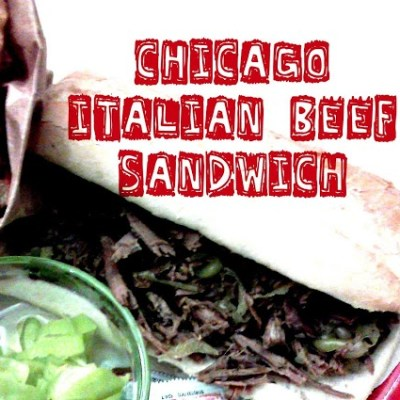 The Chicago Italian Beef Sandwich (in a Crock pot)