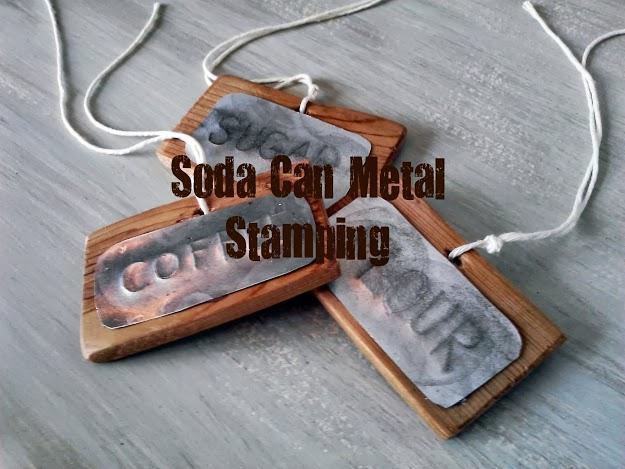 Diy Soda Can Metal Stamping Stow Amp Tellu