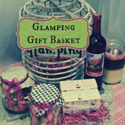 Glamping Gift Basket