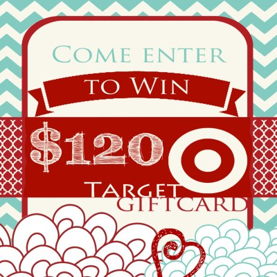 Target $120.00 July Gift Card Giveaway
