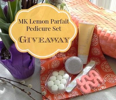 MK Makeover and a Lemon Parfait Pedicure Set Giveaway