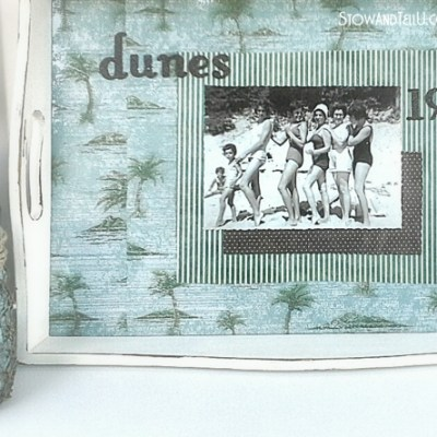 Vintage Bathing Beauties Beach Tray