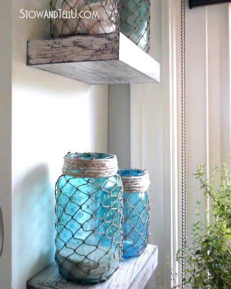 Fish-netting-jars