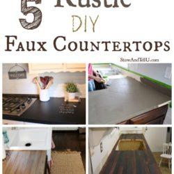 5-diy-rustic-faux-countertops