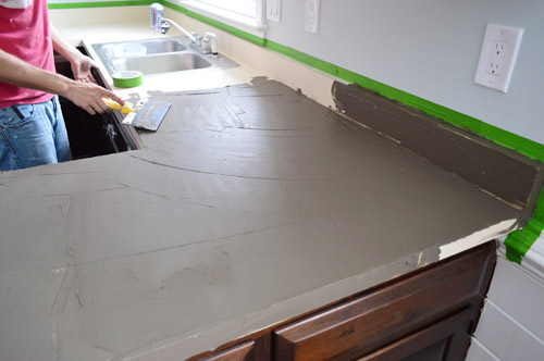 Ardex 10 Spreading First Layer Younghouselove