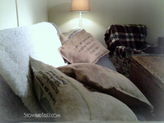 Basement-pillows