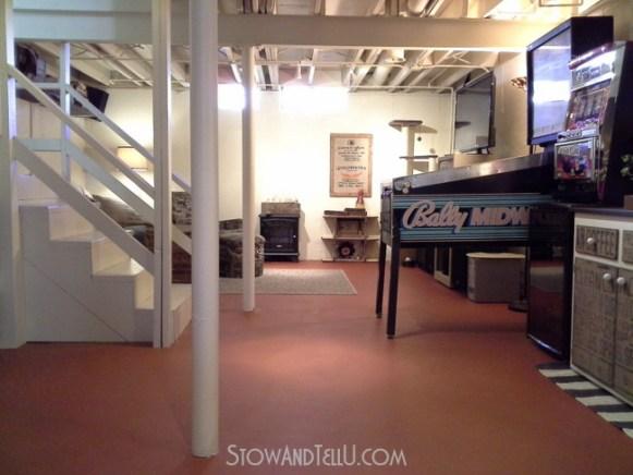 basement-exposed-ceiling-painted-http://www.stowandtellu.com