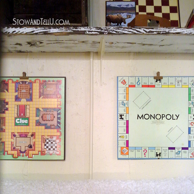 gameroom-decor-basement-easy-board-game-art-http://www.stowandtellu.com