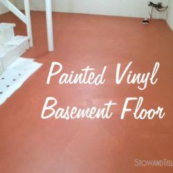 painted-vinyl-floor-basement-http://www.stowandtellu.com