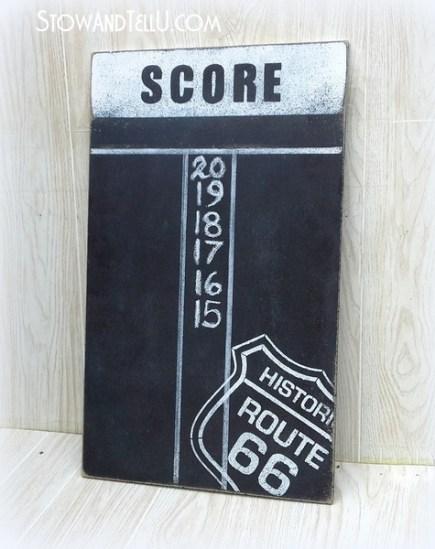 chalkboard-paint-route-66-diy-dartboard-scoreboard-game-room-art-https://stowandtellu.com