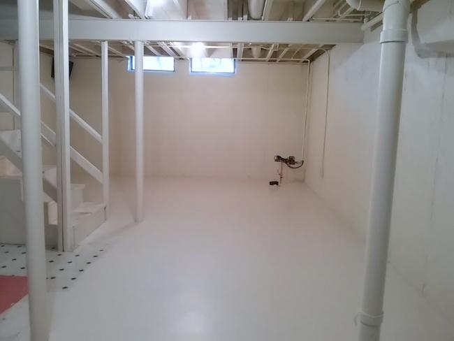 Vinyl Basement Floor Prime Paint