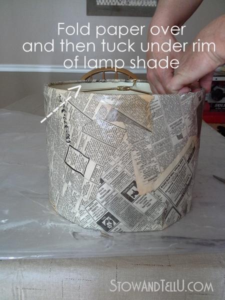 how-to-make-newspaper-lampshade-http://stowandtellu.com