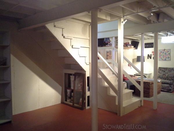 under-stairs-storage-space