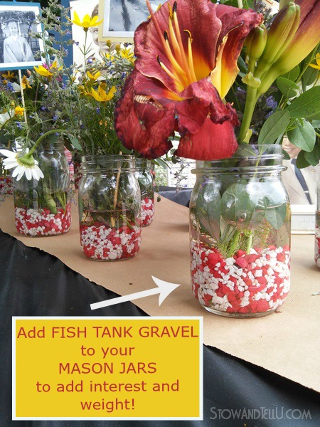 add-fish-tank-gravel-to-mason-jars-stowandtellu