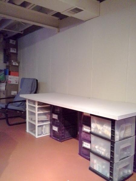 salvaged-old-door-craft-table-repurposed-stowandtellu.com