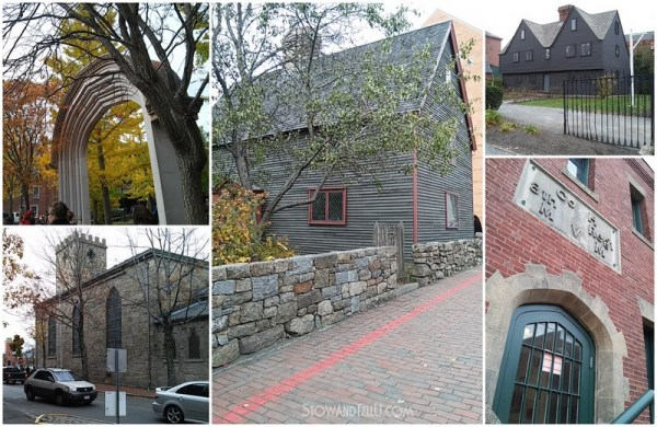 Gothic and Puritan architecture and a visit to Salem Massachusetts on Halloween of 2014