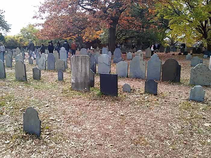 Graveyard Salem Massachusetts