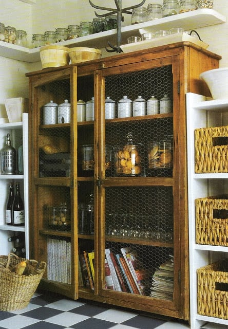 Marvelous Faux kitchen pantry ideas that could work for a kitchen with no pantry space StowandTellU