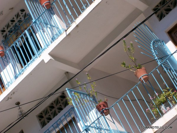 postcards from Puerto Vallarta: architecture-balcony