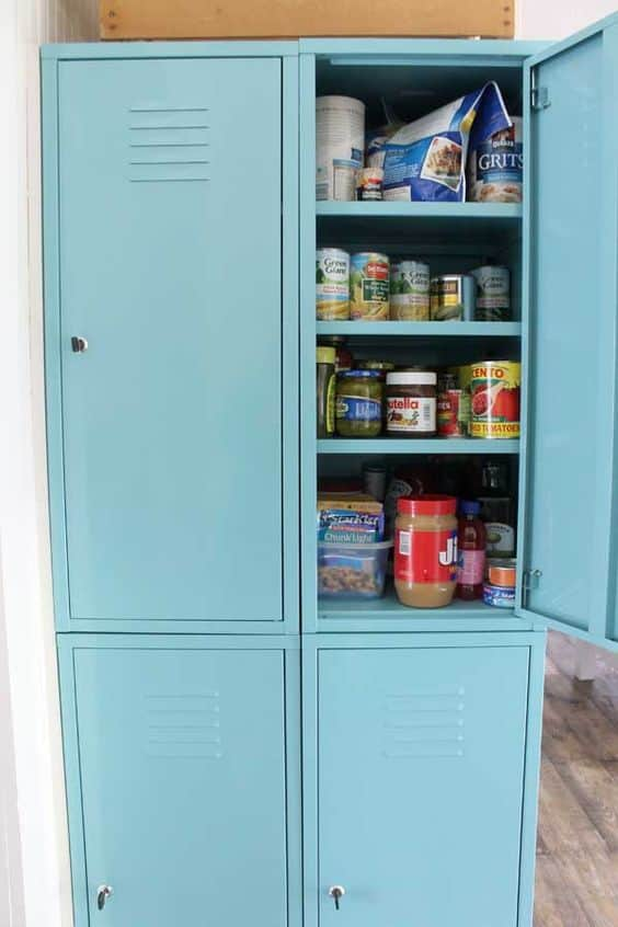 20 faux kitchen pantry ideas stow tellu for Can you paint ikea kitchen cabinets