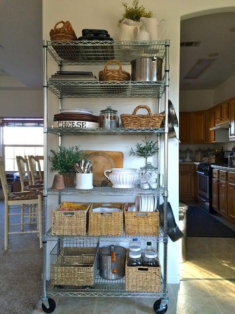 20 Faux Kitchen Pantry Ideas Stow Amp Tellu