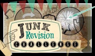 Junk revision challenge takes place once a month by diy bloggers who upcycle old and vintage items and furniture - StowandTellU.com