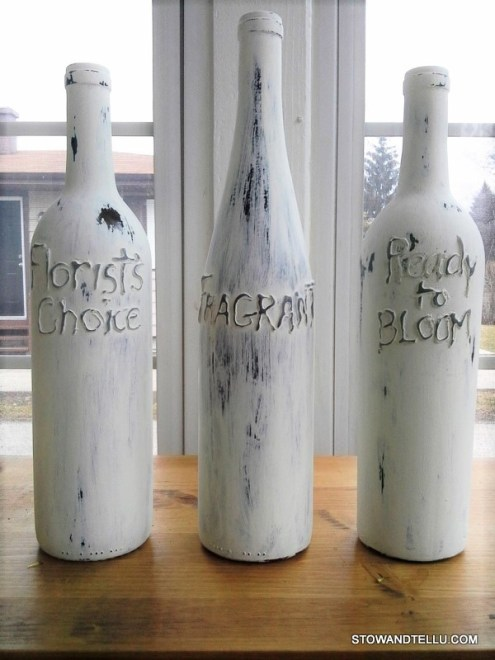 hot-glue-writing-on-wine-bottles