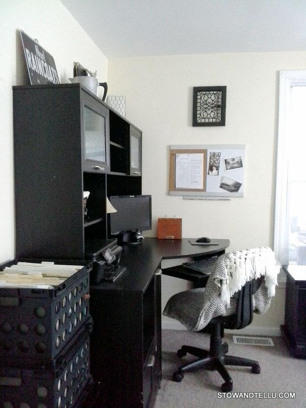 Elegant  diy office guest room makeover StowAndTellU