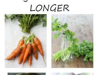 15 easy ways to keep vegetables edible longer. Short term and long terms vegetable storage tips - StowandTellU.com