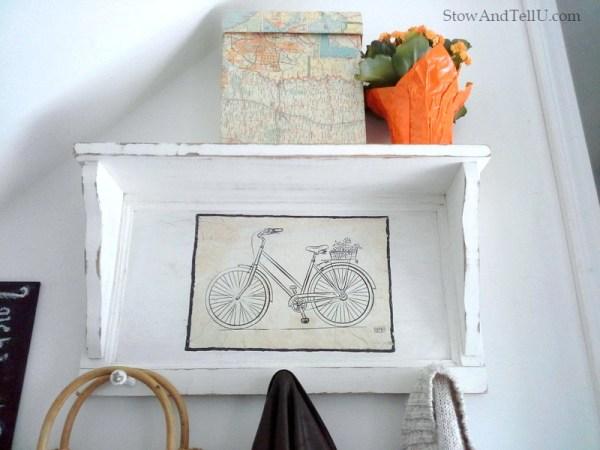 painted-diy-coat-rack-shelf-bicycle-printable-StowAndTellU.com