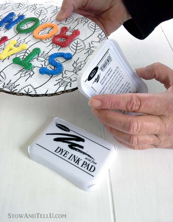 kids-craft-coloring-page-name-plate - StowAndTellU.com