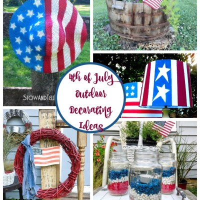 4th of July Ideas for Decorating Your Outdoor Space