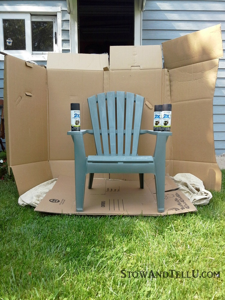 Incroyable Easy Directions For Diy Spray Painted Plastic Lawn Chairs