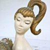 vintage deco mermaid statue - StowAndTellU.com