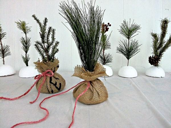 DIY fake sapling - seedling tutorial - StowandTellU.com