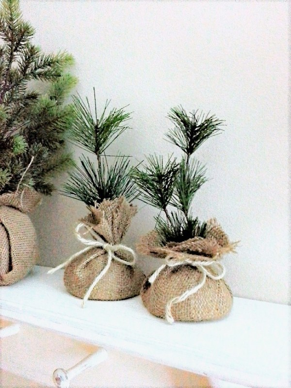 How to make mini faux seedling Christmas gifts | StowandTellU.com