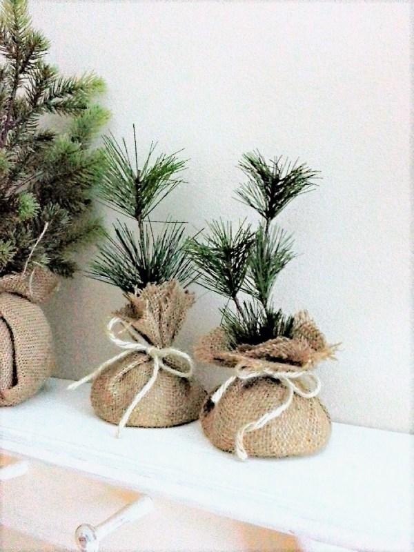 How to make mini faux seedling Christmas gifts | StowandTellU.com