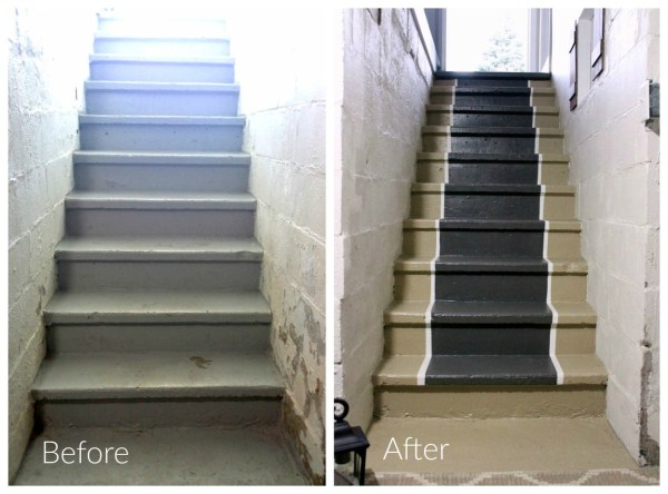 painted-stair-runner-before-after
