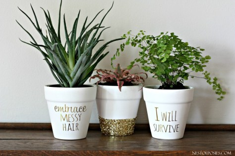 song lyric wording on decor project ideas