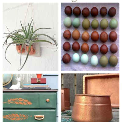 7 Ways to Love Copper and Green