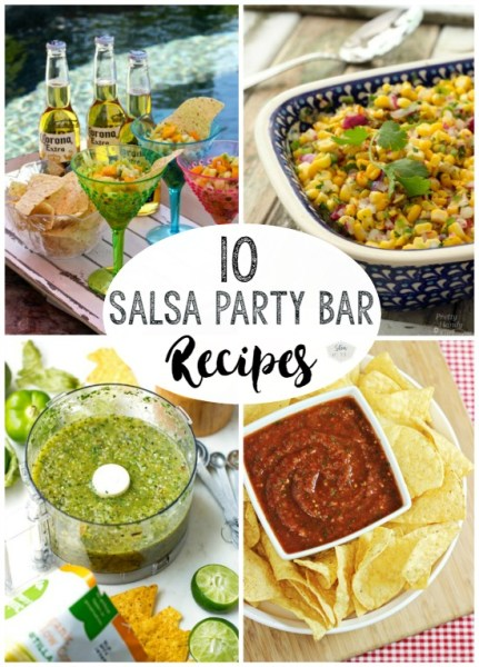 10 Salsa party bar recipe ideas | Stowandtellu.com
