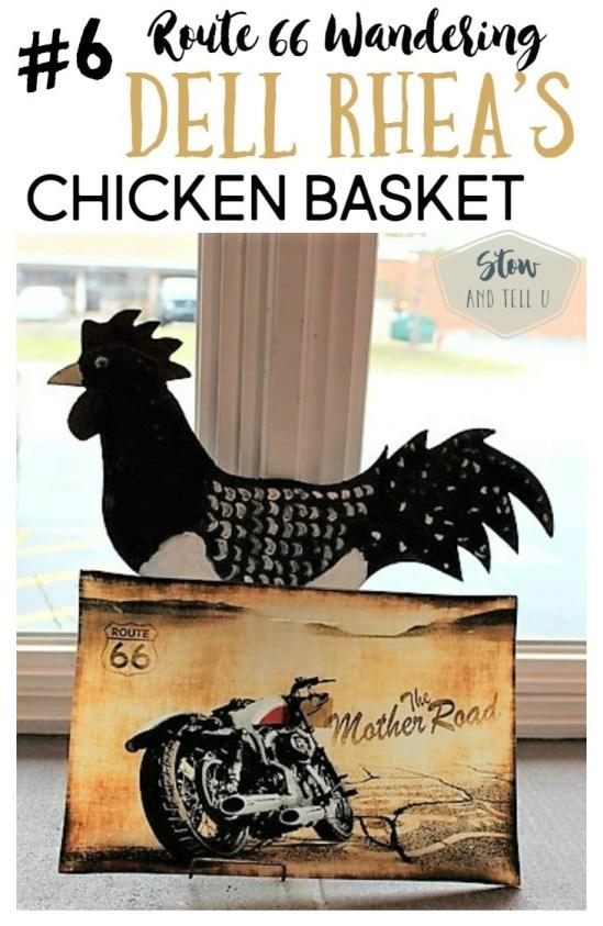 Rte 66 Wandering - Dell Rhea's Chicken Basket - Original Route 66 restaurant | Stowandtellu.com