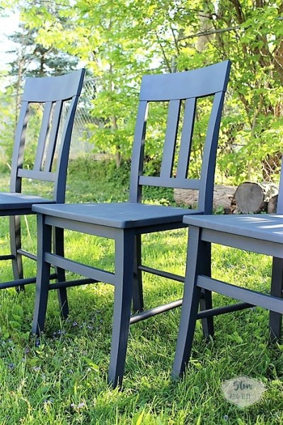 blue-gray-spray-painted-chairs