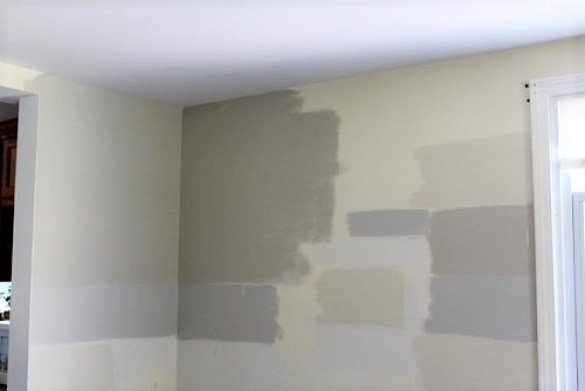 Helpful tips for sampling paint colors on the wall | how to test paint colors | stowandtellu.com