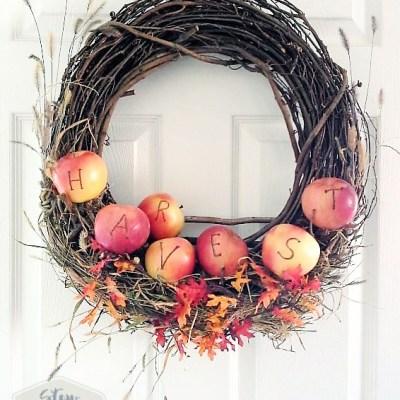Festive Fall Ideas with Apples