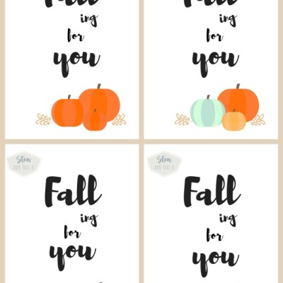 Fall Printable–Falling for You