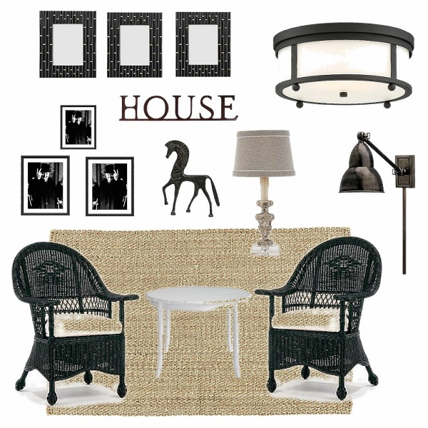 Black and White Sun Room Makeover Plans Stow and Tell U