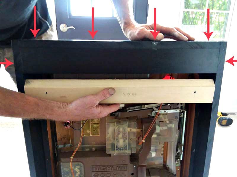Making French Cleat Mounted Pachinko Cabinet |stowandtellu.com