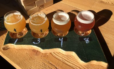 November 11, 2017 - Samples at 1st Republic Brewing in Essex, Vermont