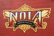 November 3, 2017 - Logo of NOLA Brewing Company in New Orleans, Louisiana